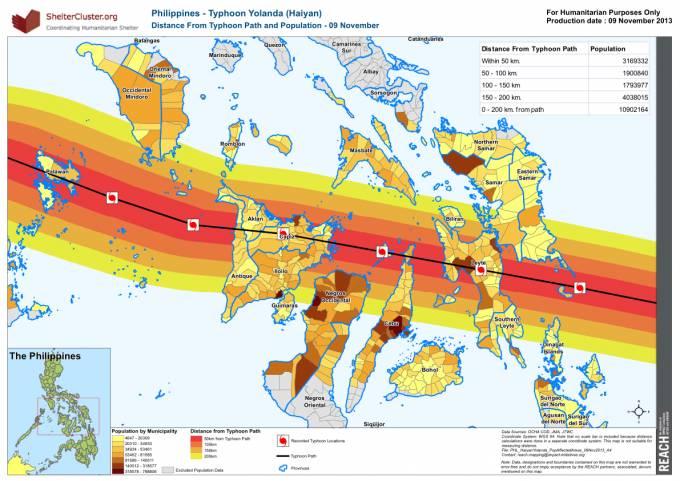 De Wee deen den Typhoon Yolanda (Haiyan) duerch d'Philippine gemaach huet…